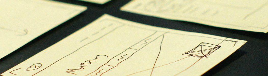 Sticky notes planing video digitisation